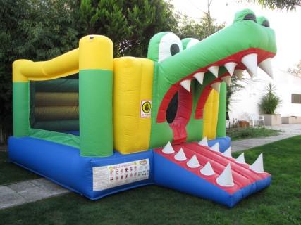 Insuflável crocodilo